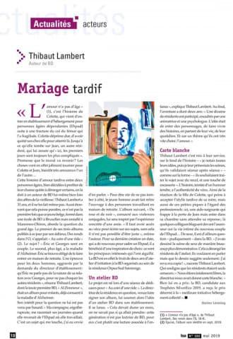Orpea Sud Saintonge amour tardif