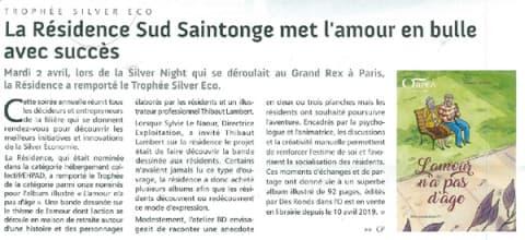 Orpea Sud Saintonge RMO