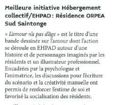 Orpea Sud Saintonge silver eco