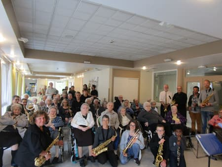 Orpea Saint-Sébastien concert