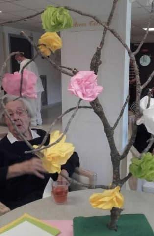 Orpea Le Bois joli art floral