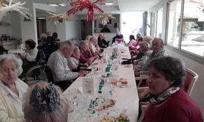Orpea Le Bois joli déjeuner de Noël