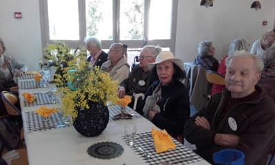 Orpea Le Bois joli fête du mimosa