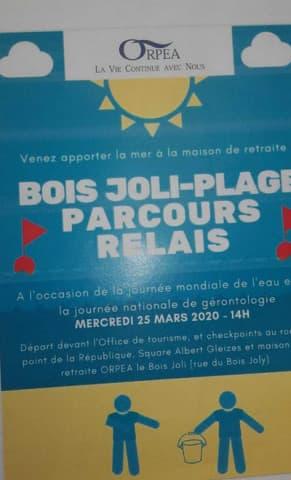 Orpea Le Bois joli mars 2020