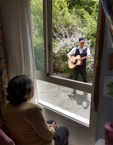 Orpea La Maison bleue fête de la musique