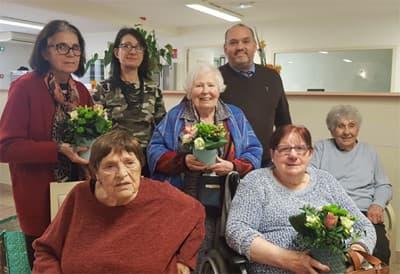 Orpea Carmableu art floral