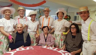 Orpea Carmableu troupe danse