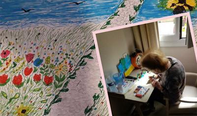 Orpea La Tour de Pujols concours dessin printemps