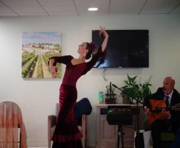 Orpea Les Chardons bleus flamenco