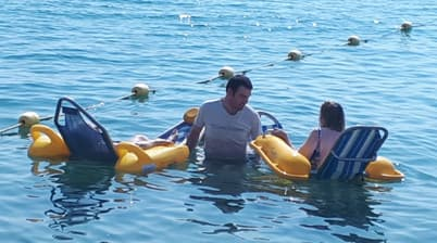 Orpea Les Citronniers handi-plage
