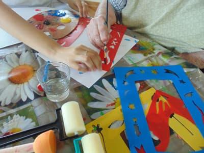 Orpea La Cheneraie activité artistique