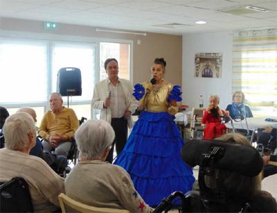 Orpea La Cheneraie spectacle danse