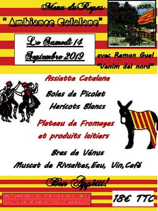 Orpea Résidence du Moulin repas catalan