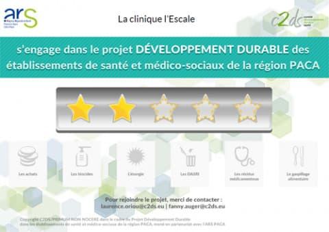 orpea clinea L'Escale développement durable
