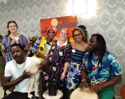 Orpea Le Clos d'Aliénor journée africaine