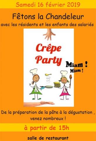 Orpea La Pastorale crepes party