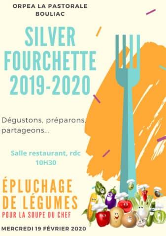 Orpea La Pastorale silver fourchette