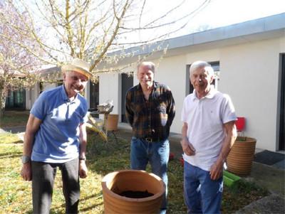 Orpea Montchenot jardinage