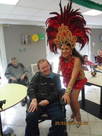 Carnaval du Brésil à la résidence Orpea Les Pivoines