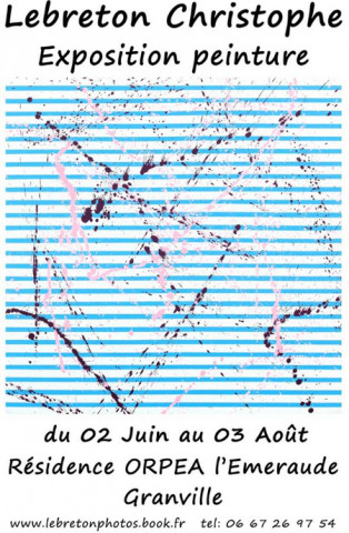 Orpea L'Emeraude expo peinture
