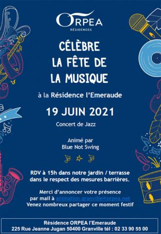 Orpea L'Emeraude fête musique