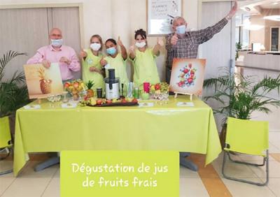 Orpea L'Emeraude fruits frais