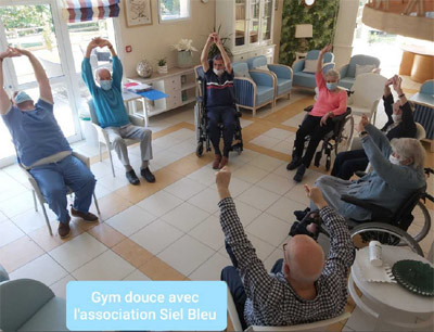 Orpea L'Emeraude gym douce