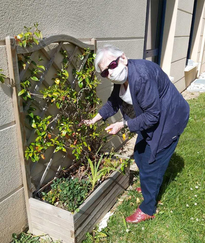 Orpea L'Emeraude atelier jardinage