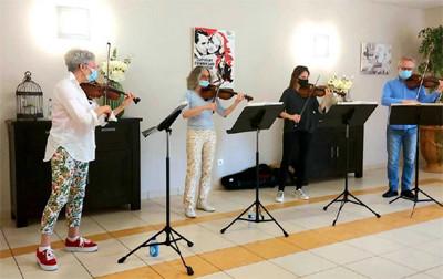 Orpea L'Emeraude orchestre