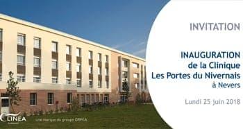inauguration clinique CLINEA Nevers
