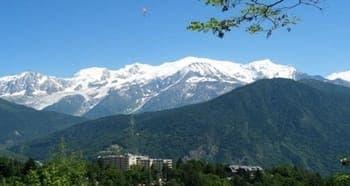 challenge mont blanc CLINEA organisé par la clinique Sancellemoz