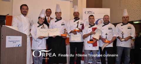 finale trophée culinaire ORPEA CLINEA