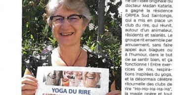 Orpea Sud saintonge yoga rire