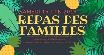 Orpea Sevret - Repas des familles juin 2019