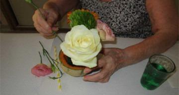Orpea Saint Sébastien atelier floral
