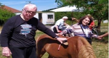 Orpea Villa Paul Thomas journée cheval