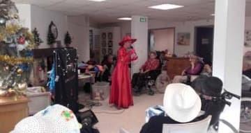 Orpea Le Bois joli spectacle de Noël
