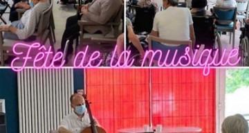 Orpea Les Cygnes fête musique