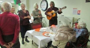 Orpea Les Berges du canal repas anniversaires