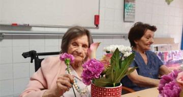 Orpea Carmableu atelier floral
