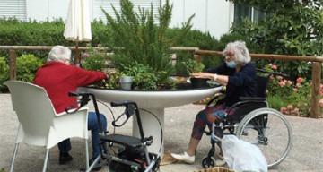 Orpea Les Magnolias atelier jardinage
