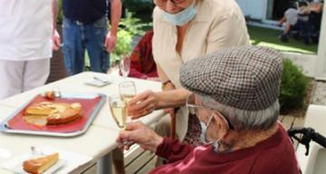 Orpea Les Magnolias résident 101 ans