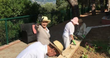Orpea Corniche Fleurie atelier jardin