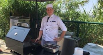 Orpea Corniche Fleurie barbecue