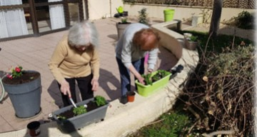 Orpea La Tour de Pujols jardinage