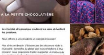 Orpea Chaillot chocolat musical