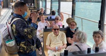 Orpea Le Corbusier bateau mouche