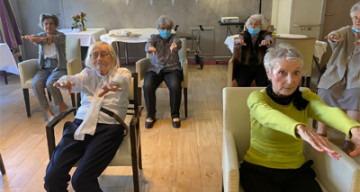 Orpea Le Corbusier gym douce