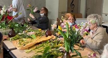 Orpea Le Corbusier préparations florales