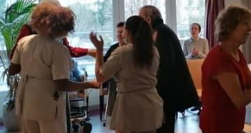 Orpea Le Corbusier thé dansant